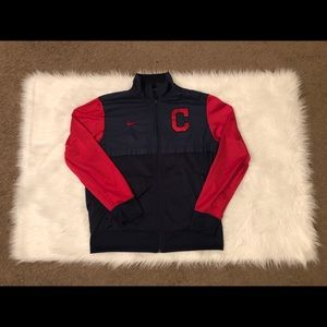 Cleveland Indians Full-Zip Nike LG Jacket